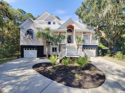 Pawleys Island Single Family Home For Sale: 217 Harbourreef Dr.