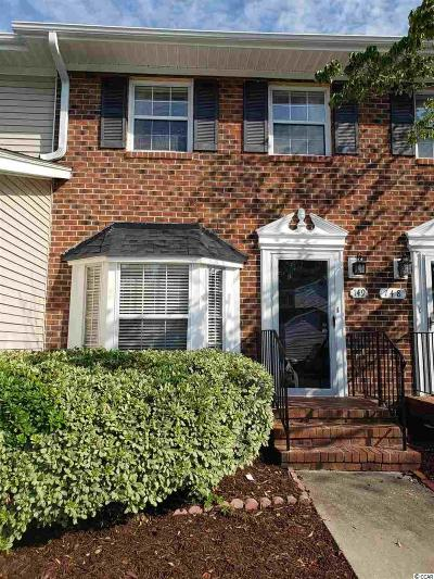 Brunswick County, New Hanover County, Georgetown County, Horry County Condo/Townhouse For Sale: 2925 Carriage Row Ln. #149