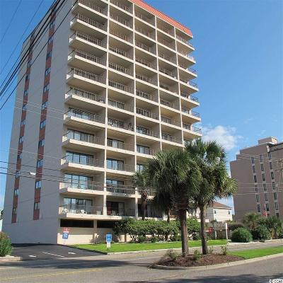 Brunswick County, New Hanover County, Georgetown County, Horry County Condo/Townhouse For Sale: 7509 N Ocean Blvd. #603