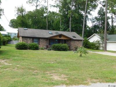 Brunswick County, New Hanover County, Georgetown County, Horry County Single Family Home For Sale: 2902 Wiley Dr.