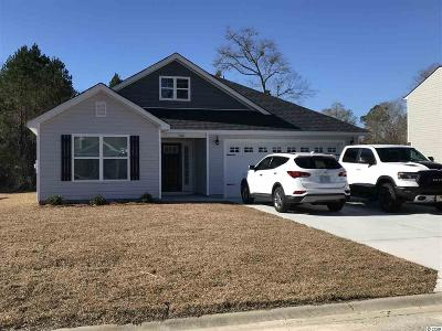 Loris Single Family Home For Sale: 134 Winding Path Dr.