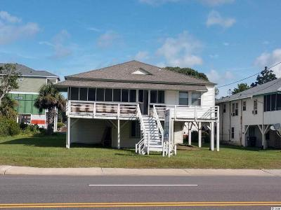 Horry County Single Family Home For Sale: 1014 S Ocean Blvd.