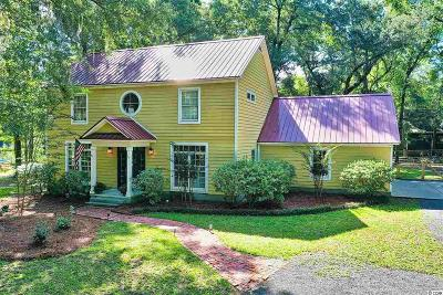 Pawleys Island Single Family Home Active Under Contract: 34 Plowden Trail