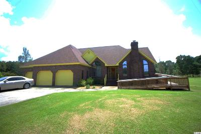 Conway Single Family Home For Sale: 3651 Kates Bay Hwy.