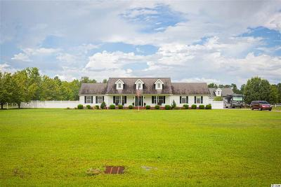 Galivants Ferry SC Single Family Home For Sale: $484,900