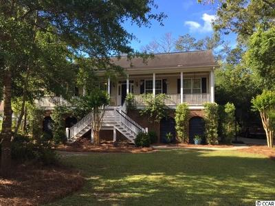 Pawleys Island Single Family Home For Sale: 151 Greenfield Rd.