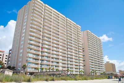 North Myrtle Beach Condo/Townhouse For Sale: 1625 S Ocean Blvd. #1202