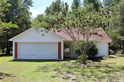 Galivants Ferry SC Single Family Home For Sale: $164,900