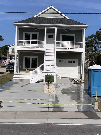 North Myrtle Beach Single Family Home For Sale: 210 S Hillside Dr. S