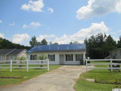 Loris SC Single Family Home Active Under Contract: $38,000