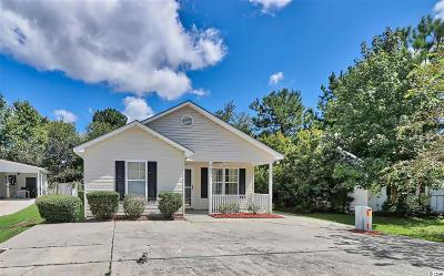 Murrells Inlet Single Family Home For Sale: 8033 Resin Rd.