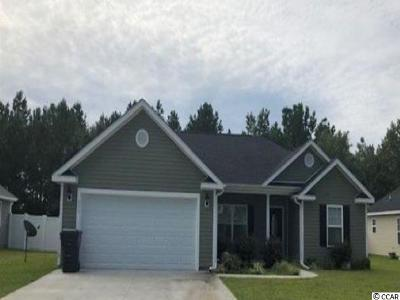Galivants Ferry SC Single Family Home For Sale: $167,000