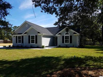 Murrells Inlet Single Family Home For Sale: 3834 Journeys End Rd.