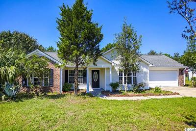 Loris Single Family Home For Sale: 335 Carolina Hickory St.