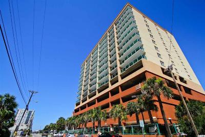 North Myrtle Beach Condo/Townhouse For Sale: 1706 S Ocean Blvd. #1206