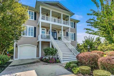 North Myrtle Beach Single Family Home For Sale: 4611 South Island Loop