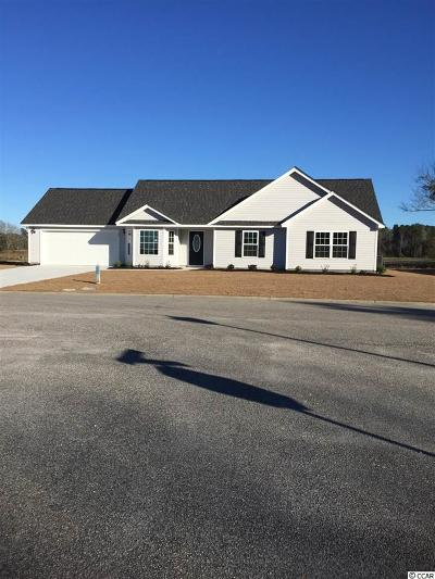 Loris SC Single Family Home Active Under Contract: $157,990