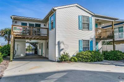 North Myrtle Beach Single Family Home For Sale: 5509 N Ocean Blvd.
