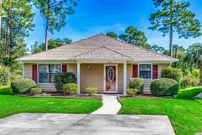 Myrtle Beach Single Family Home Active Under Contract: 6516 White Heron Crescent