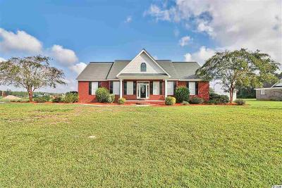 Galivants Ferry Single Family Home For Sale: 1150 Floyd Page Rd.