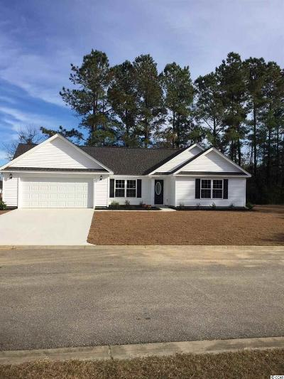 Loris SC Single Family Home For Sale: $159,990