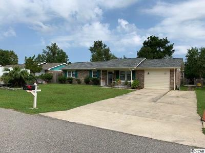 Myrtle Beach Single Family Home For Sale: 4740 Cottonwood Dr.