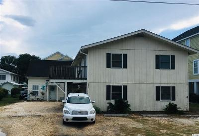 Surfside Beach Multi Family Home For Sale: 213 15th Ave. S