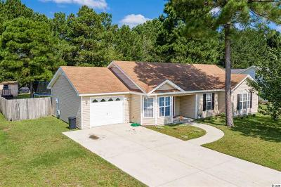 Conway SC Single Family Home Active Under Contract: $169,900