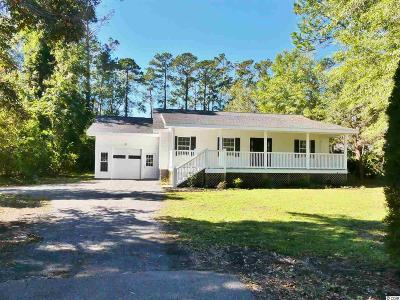 Pawleys Island Single Family Home For Sale: 58 Hill Dr.
