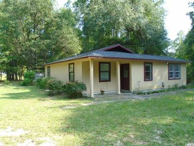 Conway Single Family Home For Sale: 2278 Steritt Swamp Rd.