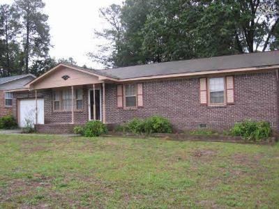Lexington County, Richland County Single Family Home For Sale: 3305 Ragsdale