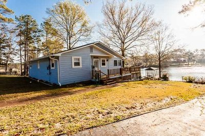 Wateree Hills, Lake Wateree Single Family Home For Sale: 2045 Lakeshore