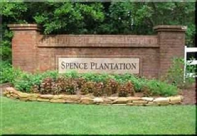 Spence Plantation Residential Lots & Land For Sale: Due West