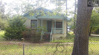 Columbia SC Single Family Home For Sale: $46,000