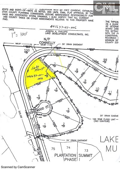 Lexington County, Newberry County, Richland County, Saluda County Residential Lots & Land For Sale: 112 Edgewood