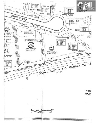 Lexington Residential Lots & Land For Sale: 104 Kenzi