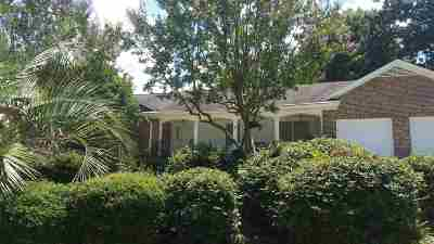 West Columbia Single Family Home For Sale: 2304 Quail Hollow