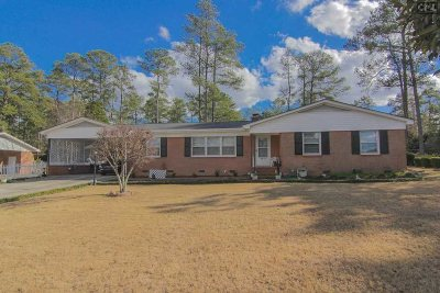 Forest Acres Single Family Home For Sale: 6818 Brookfield