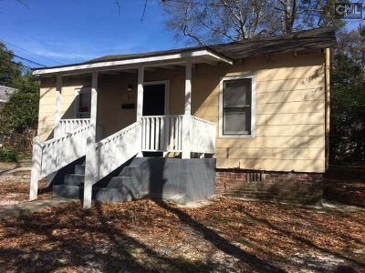Columbia Single Family Home For Sale: 1503 Ashley