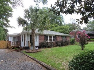 West Columbia Single Family Home For Sale: 1016 Carrolton