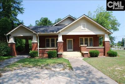 Batesburg Single Family Home For Sale: 531 W Columbia