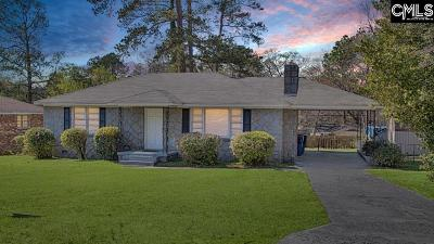 Columbia SC Single Family Home For Sale: $84,900