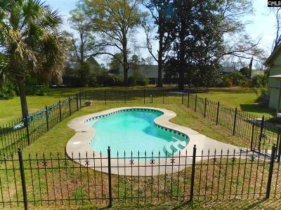 Batesburg Single Family Home For Sale: 329 W Railroad