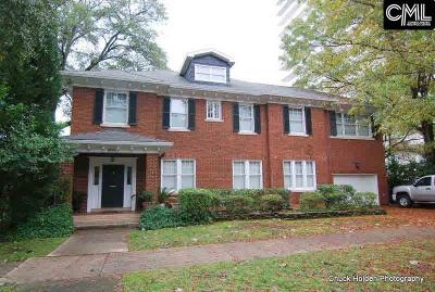 Columbia Single Family Home For Sale: 1815 Senate