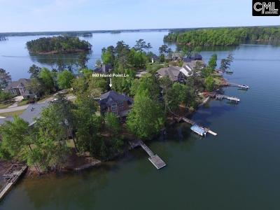 Lexington County, Newberry County, Richland County, Saluda County Single Family Home For Sale: 860 Island Point