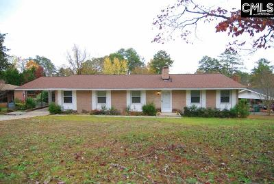 Forest Acres Single Family Home For Sale: 1638 Upland