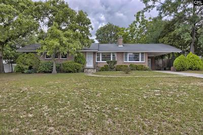 Forest Acres Single Family Home For Sale: 6421 N Trenholm