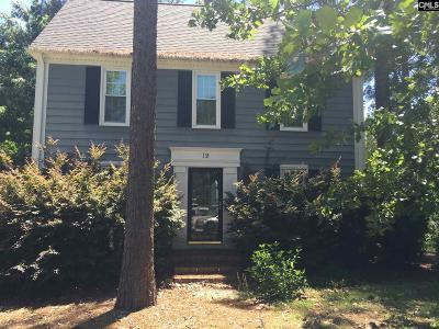 Columbia Single Family Home For Sale: 19 Eastpine