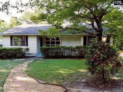Forest Acres Single Family Home For Sale: 3820 Beverly