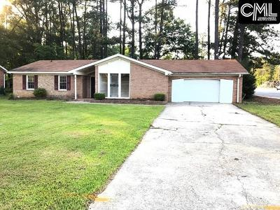 Columbia SC Single Family Home For Sale: $89,900